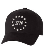 1776 Stars Embroidered FLEX FIT Hat - Declaration of Independence Hat - Various - $19.99