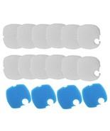 16PCS Aquarium Replacement Filter Pads for SUNSUN GRECH HW-304 HW404B - $13.19