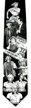 I Love Lucy Men's Neck Tie Ralph Marlin Lucille Ball TV Show Black Necktie - $21.04