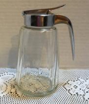 Vintage Retro DINER STYLE Sugar Syrup Drip Cut Dispenser Heavy Duty Ribb... - $10.50