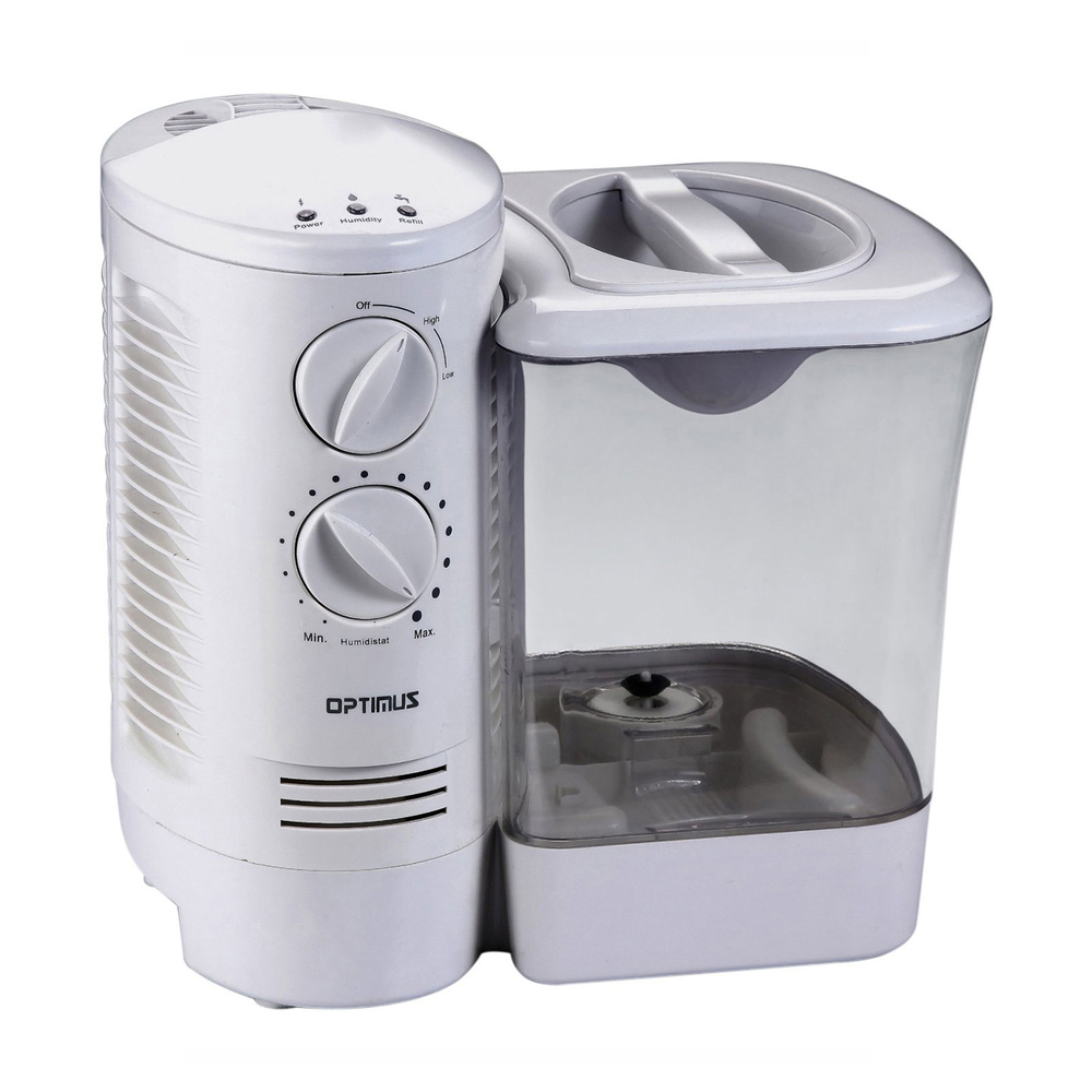 Optimus 2.5 Gallon Warm Mist Humidifier with Wicking Vapor System