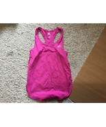 Adidas Girl's Athletic Tank Top Size Medium 10-12 Pink - $10.00