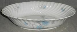 Haviland Porcelain BERGERE PATTERN Oval Vegetable Bowl LIMOGES FRANCE - $31.67