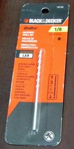 "Black & Decker 1/8"" Masonry Drill Bit 3 in. 16730 Bullet Carbide Tip - $3.99"