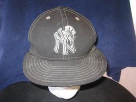 NEW YORK YANKEES BASEBALL WOOL HAT CAP ADULT NEW ERA SIZE 7 1/4 MLB NY 5... - $10.00