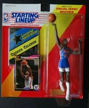 1992 Starting Lineup Derrick Coleman New Jersey Nets Kenner Basketball F... - $8.00