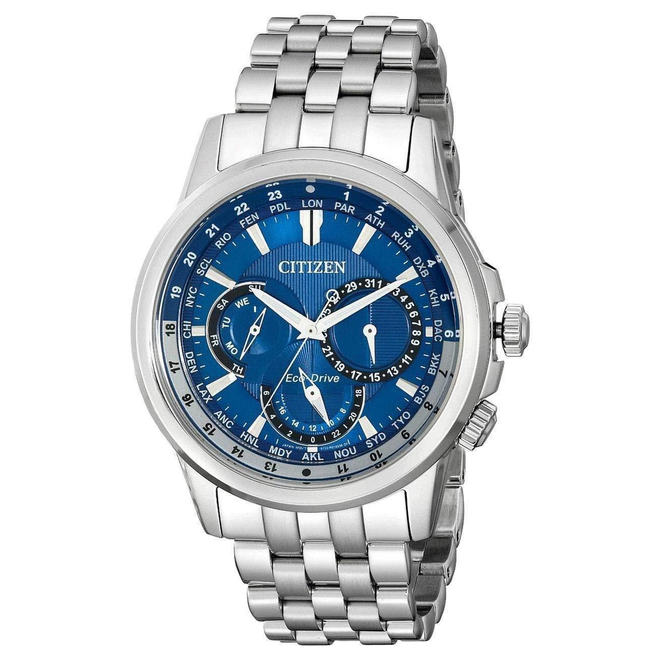 Citizen Men's Eco-Drive Stainless Steel Watch BU2021-51L