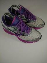 Mizuno Women's Wave Legend 3 Running Shoes Pearl/Gray/Pink/Purple Size 7... - $36.53