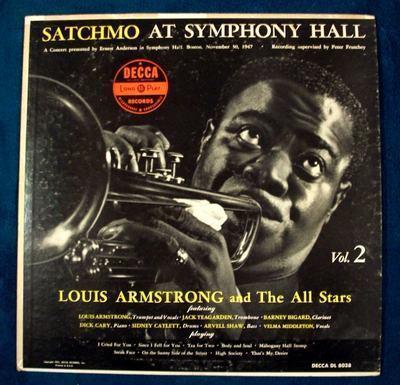 Lpj satchmo ay symphony hall