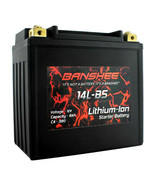 Banshee DLFP14L-BS Lithium Ion Battery Harley Davidson/Buell Sportster/1125 - $210.82