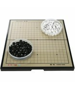 Portable Magnetic Go Game Board Set Plastic Piece Outdoor Travel Party A... - $92.99