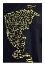 Famous Stars & Straps Black/Yellow Get High with Help From My Friends T-Shirt NW