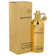 Montale Aoud Leather by Montale Eau De Parfum Spray (Unisex) 3.4 oz for Women - $146.95