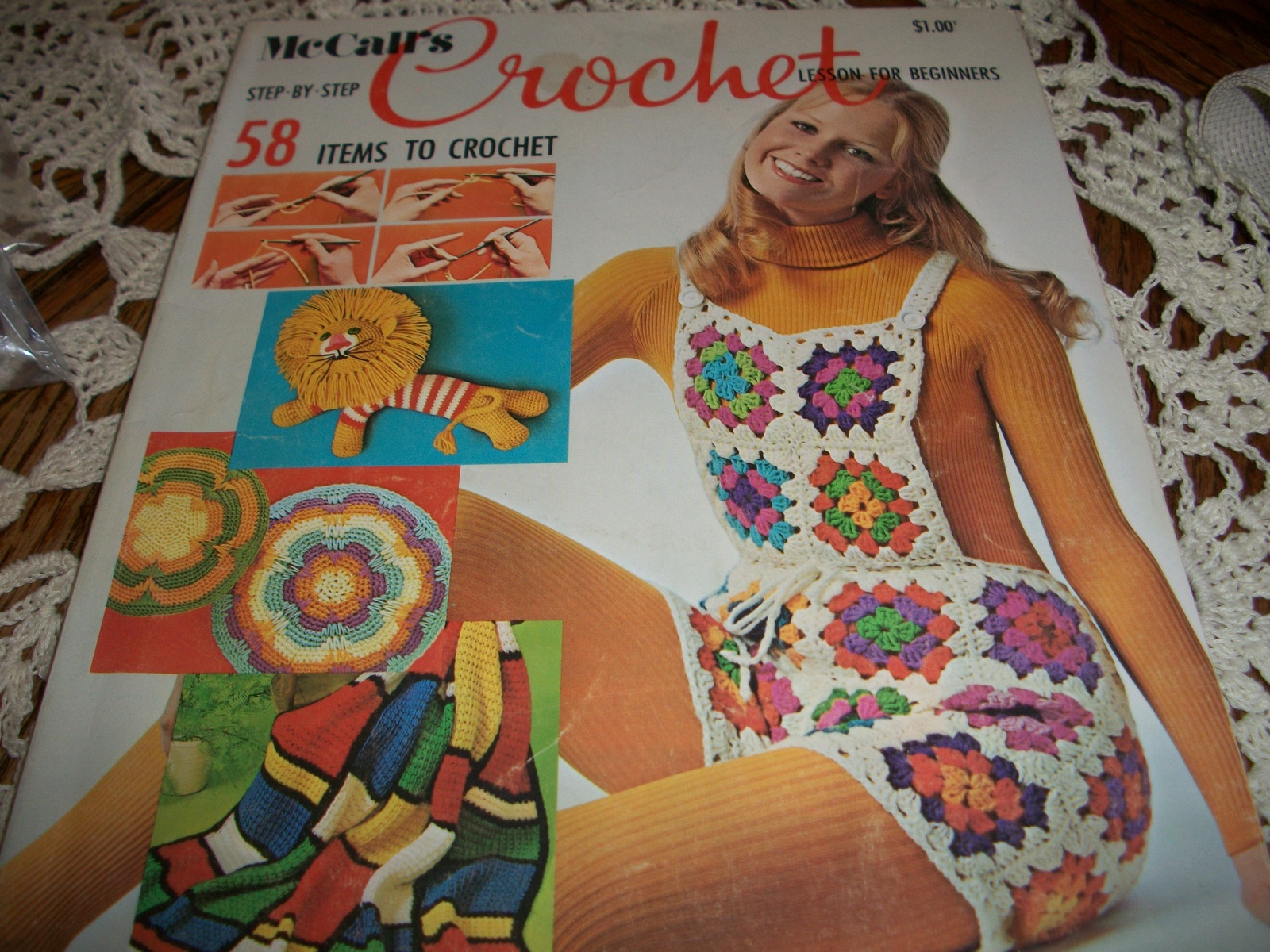 Primary image for McCall's Step-By-Step Crochet Lesson For Beginners: 58 Items To Crochet