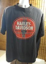 Mens Harley Davidson Motorcycles Cotton Shirt 3XL XXXL Pullover Black T-... - $18.95