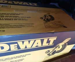 "DEWALT DWS779 12"" Double Bevel Sliding Compound Miter Saw - $426.55"