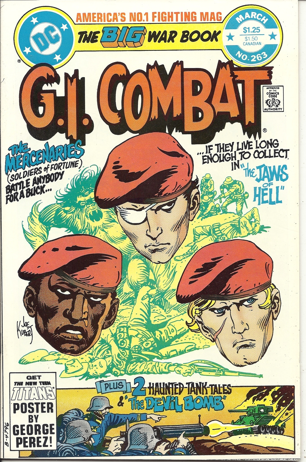 Primary image for (CB-7) 1983 DC Comic Book: G.I. Combat #263