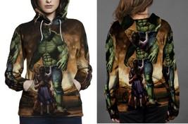 hulk painting art image Hoodie Women's - $44.99+