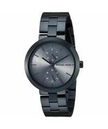Michael Kors Women's MK6410 'Garner' Chronograph Blue Stainless Steel Watch - £115.55 GBP