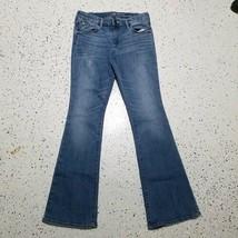 Gap Baby Boot Womens Denim Blue J EAN S Sz 2/26 Cotton Blend - $19.79