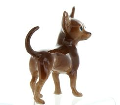 Hagen Renaker Pedigree Dog Chihuahua Large Brown and White Ceramic Figurine image 11