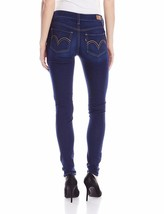 New Levi's 535 Women's Premium Super Skinny Jeans Leggings Blue Ravine 119970254 image 2