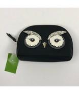 Women's Kate Spade Black Marcy Owl Cosmetic Makeup Bag - $57.02