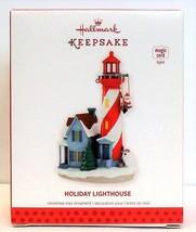 2013 Hallmark Keepsake Christmas Ornament Holiday Lighthouse Series 2 Ma... - $124.90