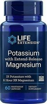 Life Extension Potassium with Extend-Release Magnesium, 60 Count - $13.60