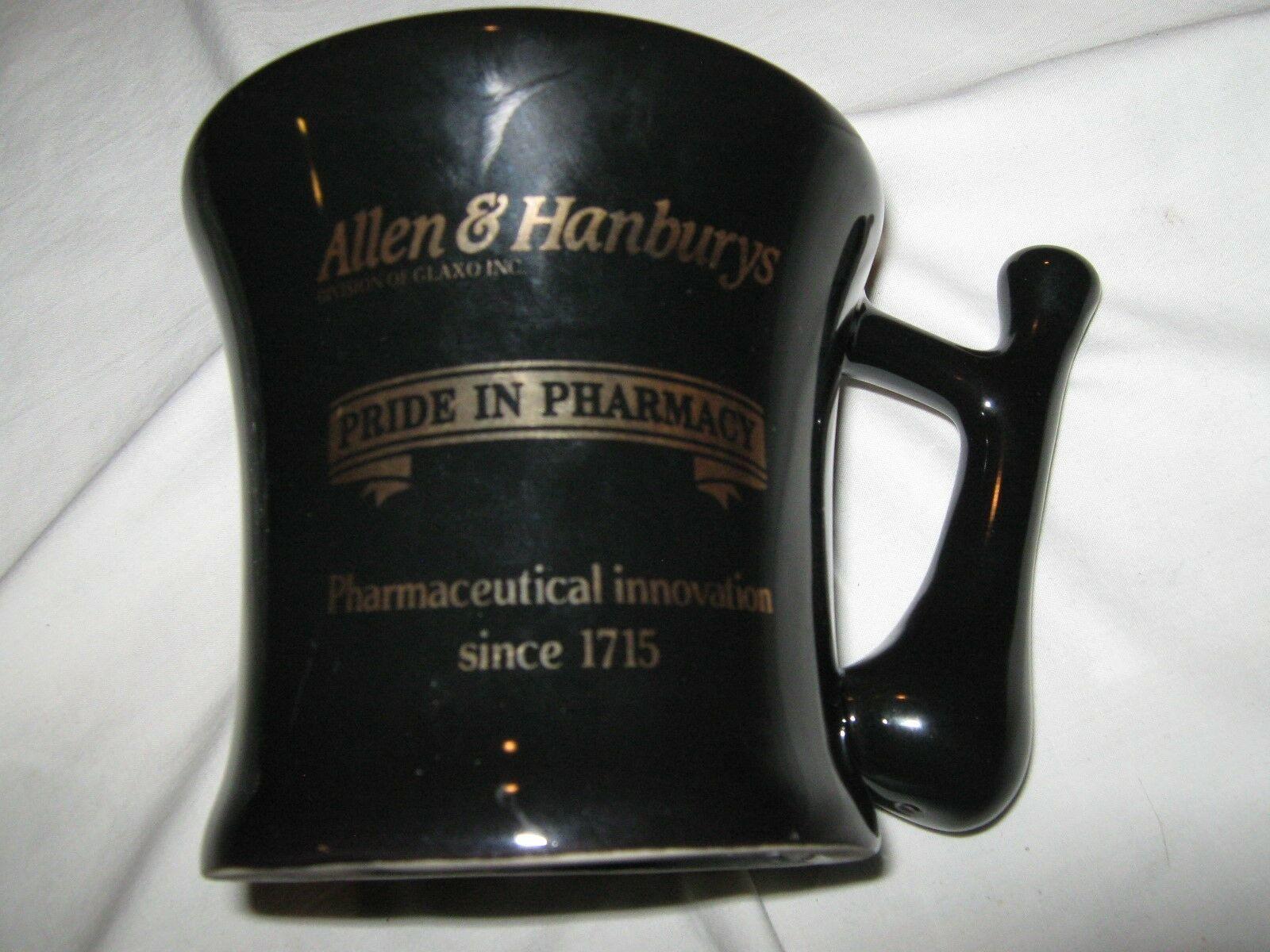 Rx , Pharmacy, Mug, Mortar (mug) and Pestle (Handle) Design , Vintage , Rare