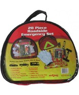 28 Piece Roadside Emergency Set - $45.99