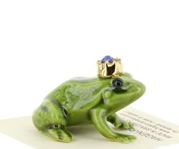 Birthstone Frog Prince September Simulated Sapphire Miniatures by Hagen-Renaker image 5