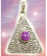 HAUNTED NECKLACE ANCIENT PYRAMIDS OF POWER HIGHER MAGICK MYSTICAL TREASURE - $447.77