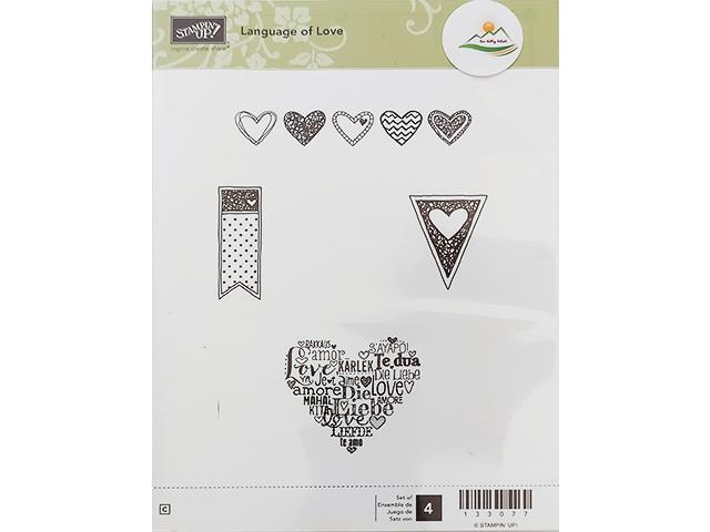 Stampin' Up! Language of Love Stamp Set #133077