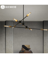 Restoration Kinetic Chandelier E27 Light Ceiling Lamp Home Lighting Fixt... - $274.54+
