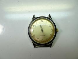 1964 Caravelle 17 jewel waterproof watch runs to restore missing hands - $91.92