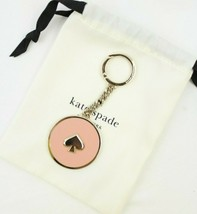 Kate Spade New York Pale Pink Key Chain Ring Fob Bag Charm New $59 NWT - $19.79
