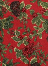 "Ralph Lauren Birchmont Red on Red Tablecloth 104"" Oblong - $45.00"