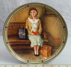 """Knowles Norman Rockwell Collectible Plate """"A Young Girl's Dream""""  jds - $9.89"""