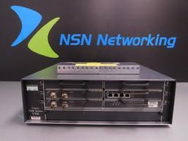 Cisco 7200 Vxr 7206VXR Router w/ NPE-G1 SA-VAM2 PA-T3+ PA-MC-4T1 Dual Psu - $98.95
