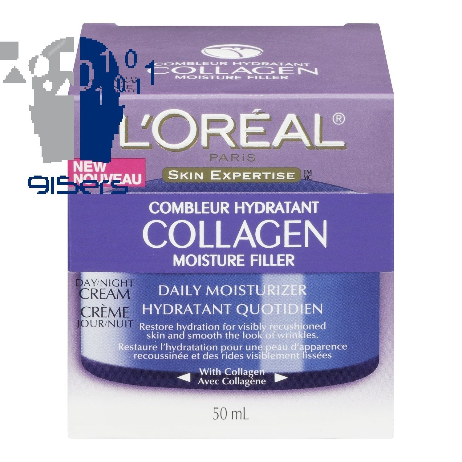 L'Oreal Paris Collagen Moisture Filler Facial Day/Night Cream All Skin Types New