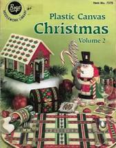Christmas in Plastic Canvas Vol 2 ASN Boye Needlework Library No. 7376 V... - $4.99