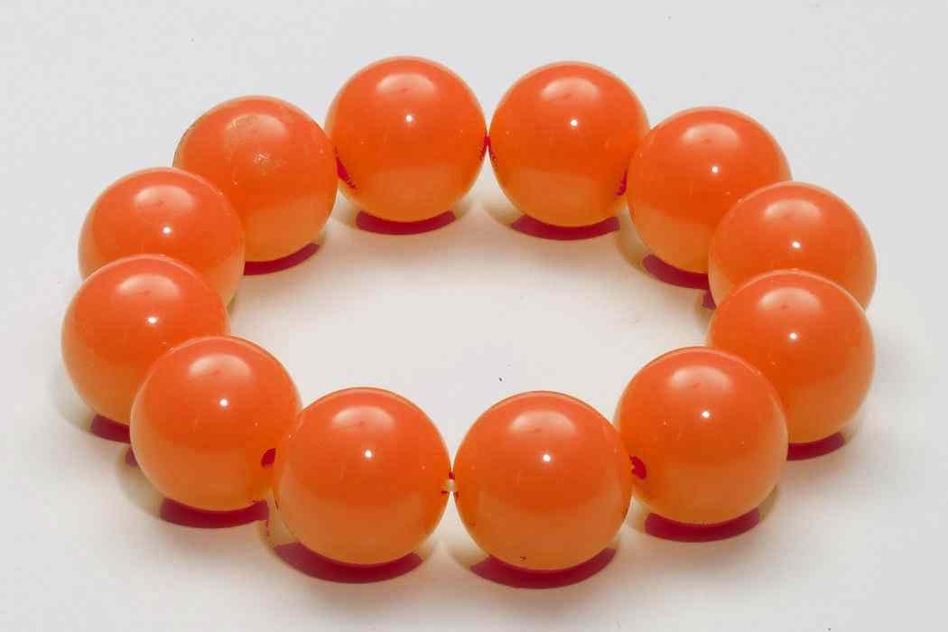 Primary image for Gumball Bracelet 80's Retro Rave Club Candy Halloween Costume Accessory 4 COLORS