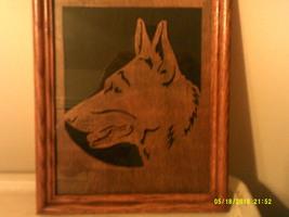 German Shepherd Head in Frame - $35.00