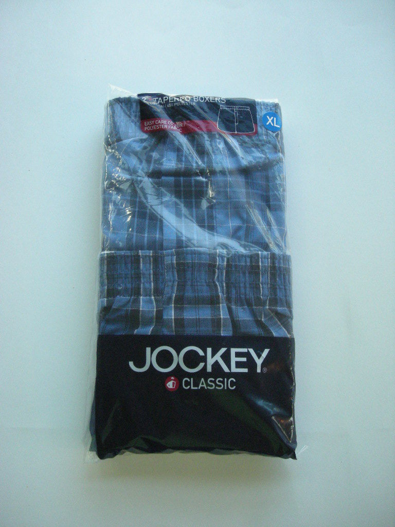 Mens Jockey Classic 2-Pk Tapered Boxers Size XL