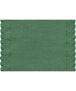 "24ct Green Scalloped Border banding 5""w x 18"" (... - $8.10"