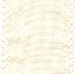 "Primary image for 24ct Cream Scalloped Border banding 5""wx18"" (1/2yd) 100% linen Zweigart"