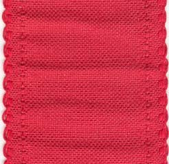 72739 red scalloped border