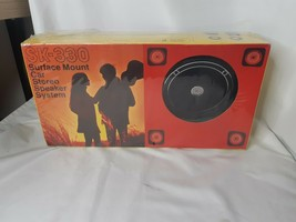 VINTAGE Automatic Radio of Canada Surface Mount Speakers SK-330 - NEW SU... - $79.15