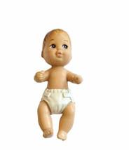 Vtg 1994 Mattel Baby Crissy Krissy Doll Brown Hair Skipper Babysitter Ba... - $9.89